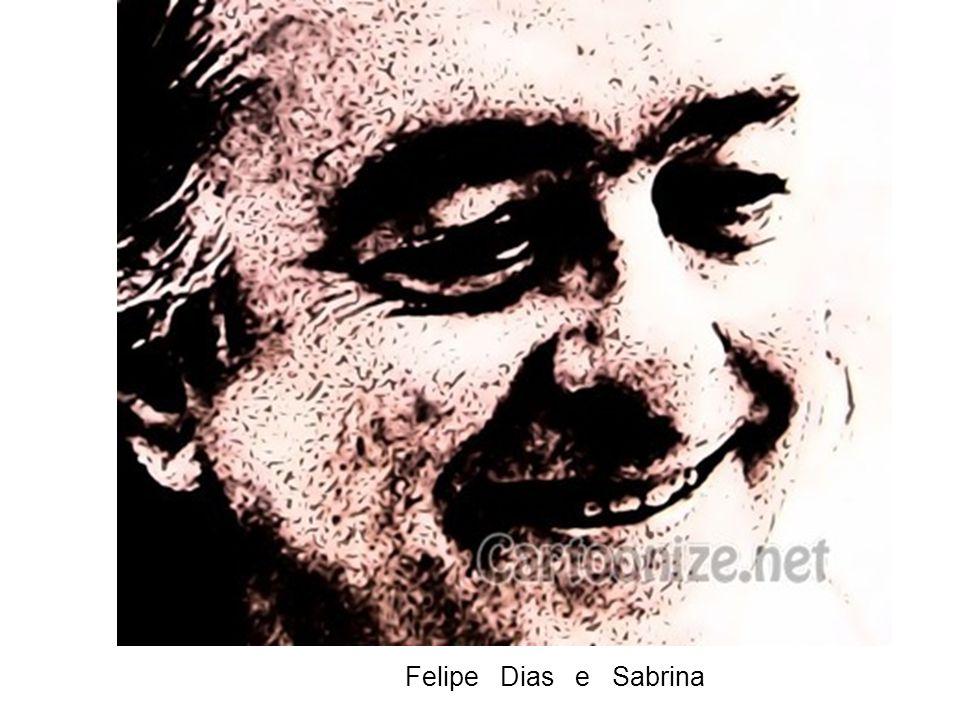 Felipe Dias e Sabrina