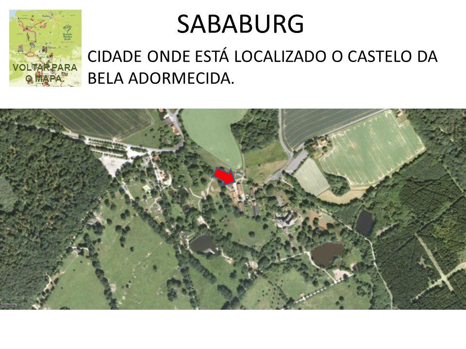 SABABURG CIDADE ONDE ESTÁ LOCALIZADO O CASTELO DA BELA ADORMECIDA.