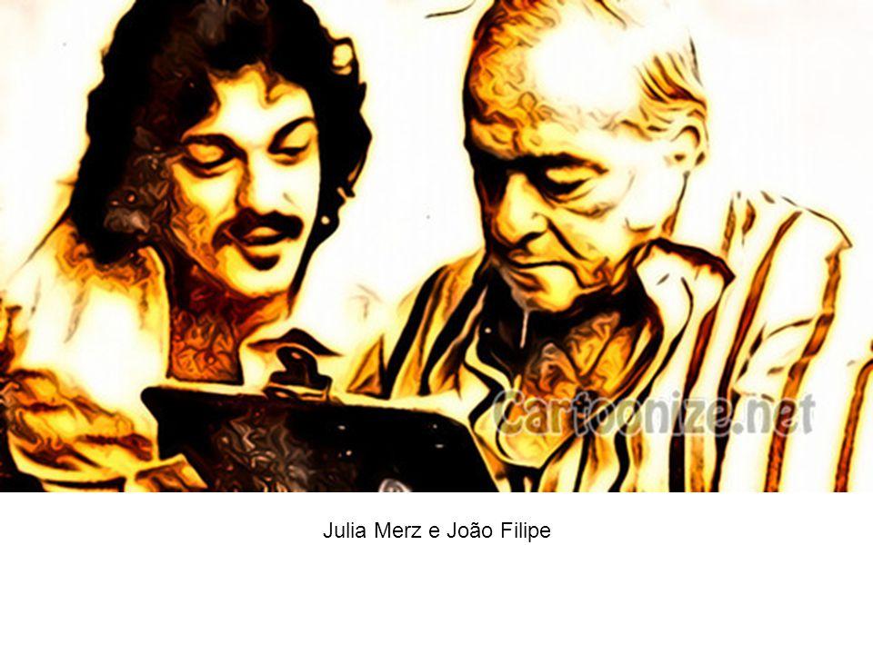 Julia Merz e João Filipe