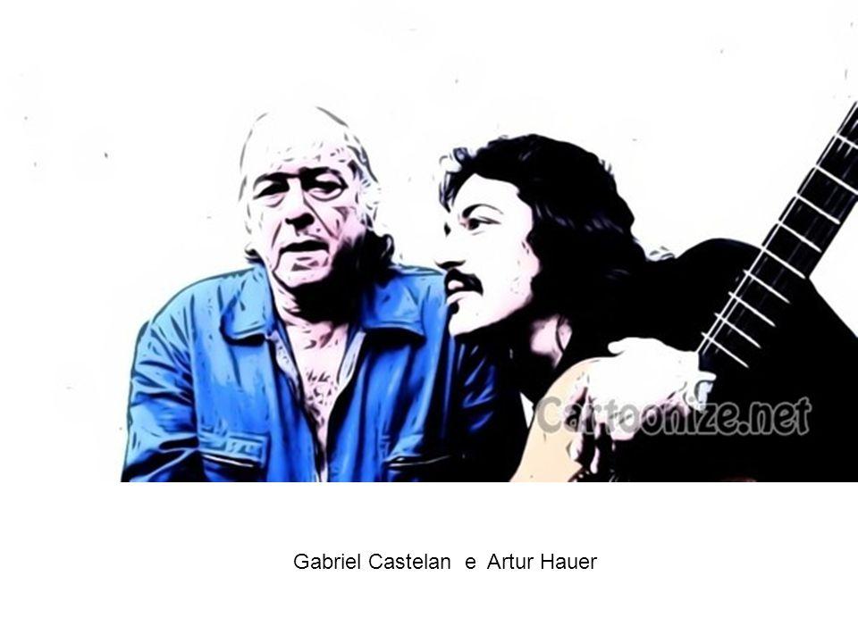 Gabriel Castelan e Artur Hauer