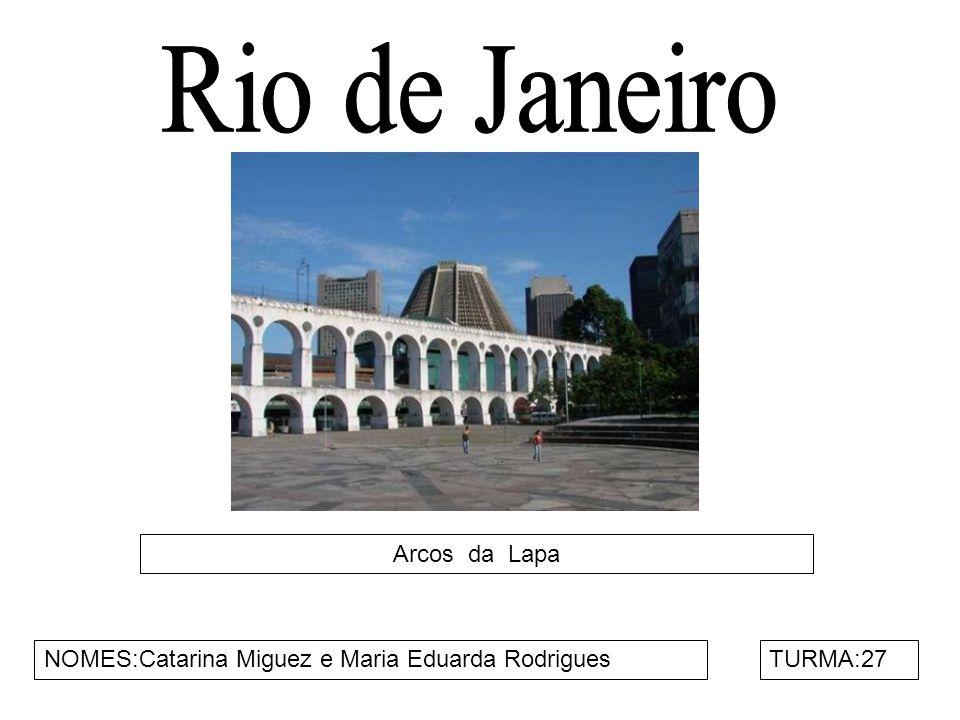 Rio de Janeiro Arcos da Lapa