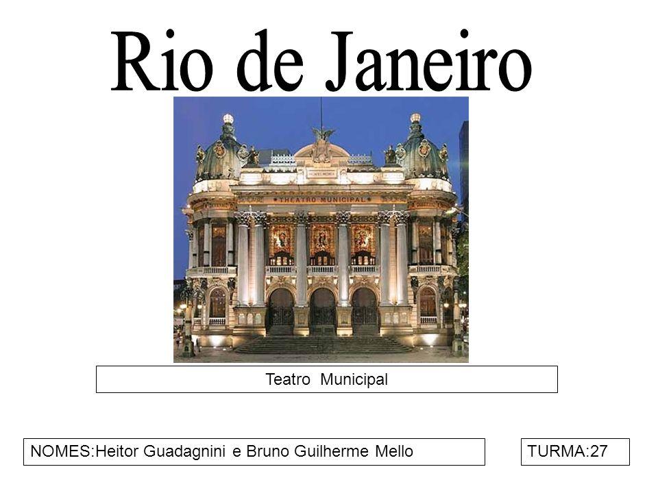 Rio de Janeiro Teatro Municipal