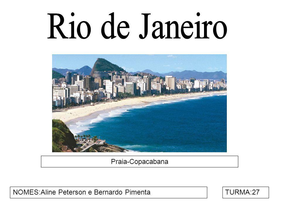 Rio de Janeiro Praia-Copacabana