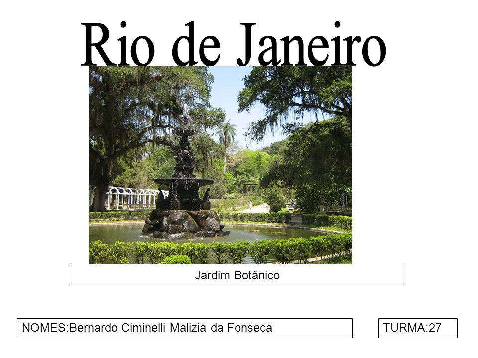 Rio de Janeiro Jardim Botânico