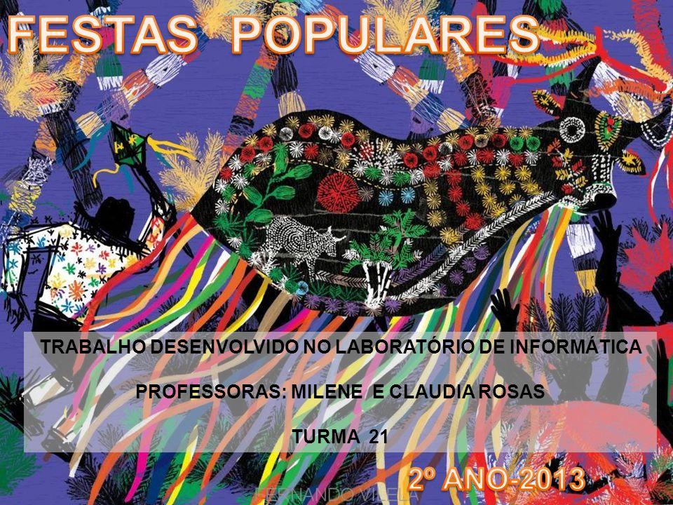 FESTAS POPULARES 2º ANO-2013
