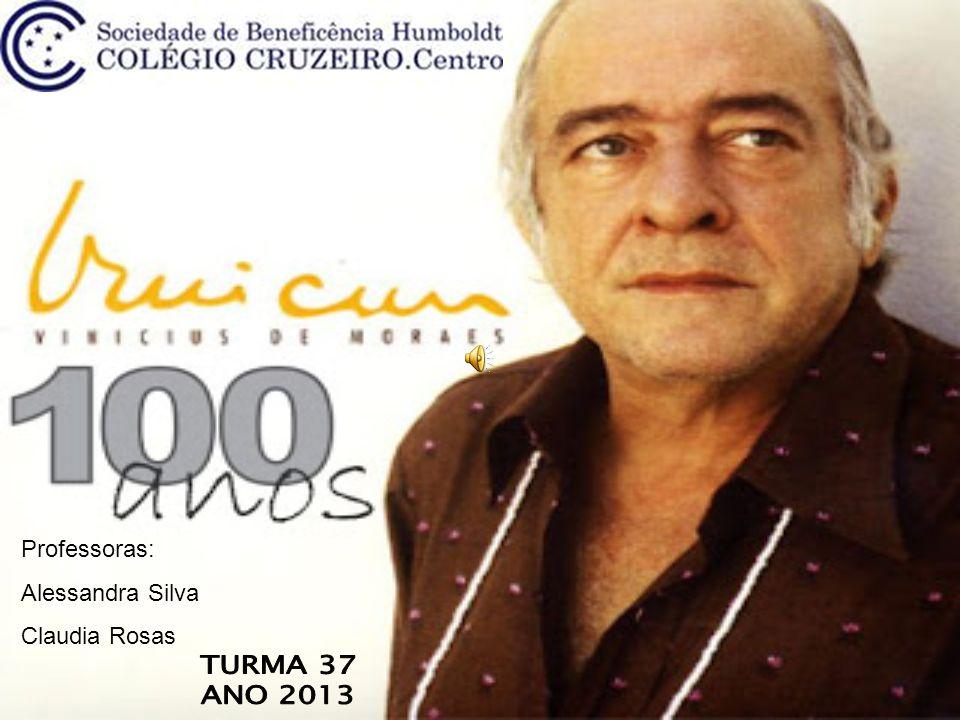 Professoras: Alessandra Silva Claudia Rosas TURMA 37 ANO 2013