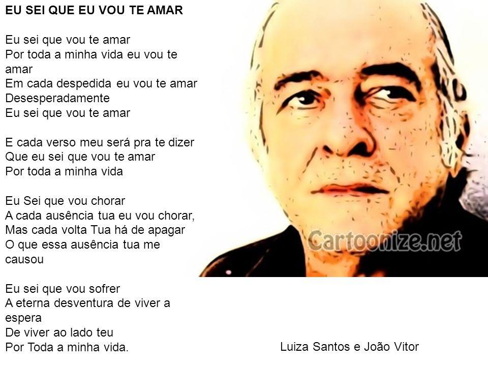 Luiza Santos e João Vitor