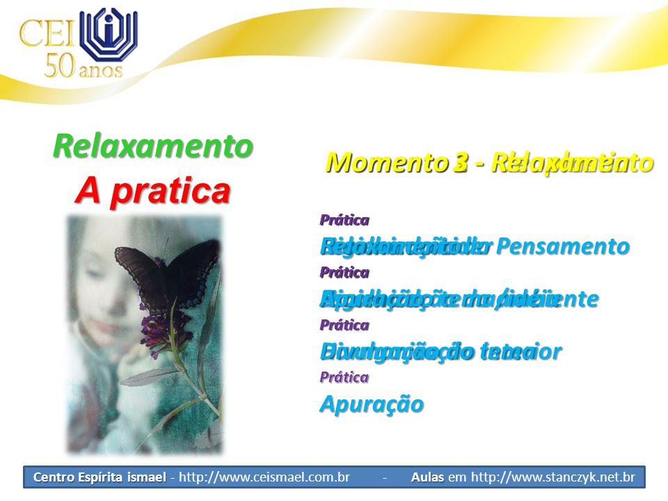 Relaxamento A pratica Momento 3 - Relaxamento Momento 2 - Ideoplastia