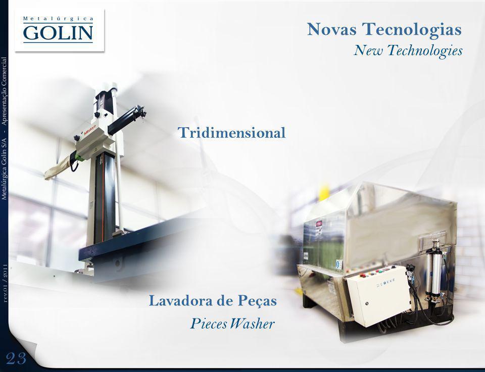 23 Novas Tecnologias New Technologies Tridimensional Lavadora de Peças