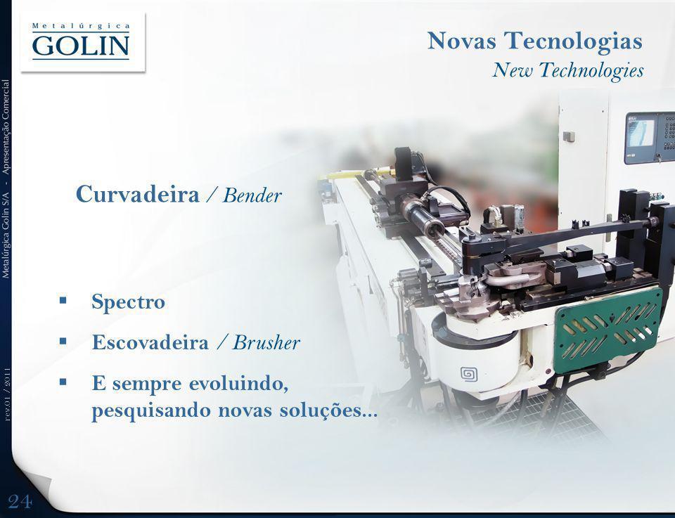 Novas Tecnologias Curvadeira / Bender 24 New Technologies Spectro