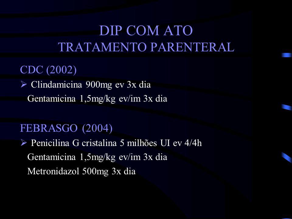 DIP COM ATO TRATAMENTO PARENTERAL