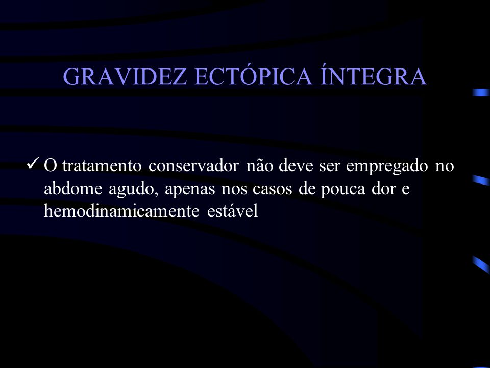 GRAVIDEZ ECTÓPICA ÍNTEGRA
