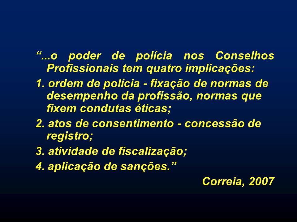 2. atos de consentimento - concessão de registro;