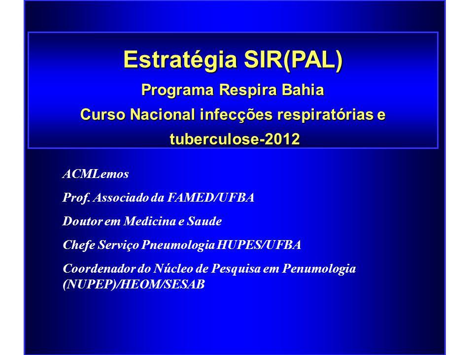 Programa Respira Bahia Curso Nacional infecções respiratórias e