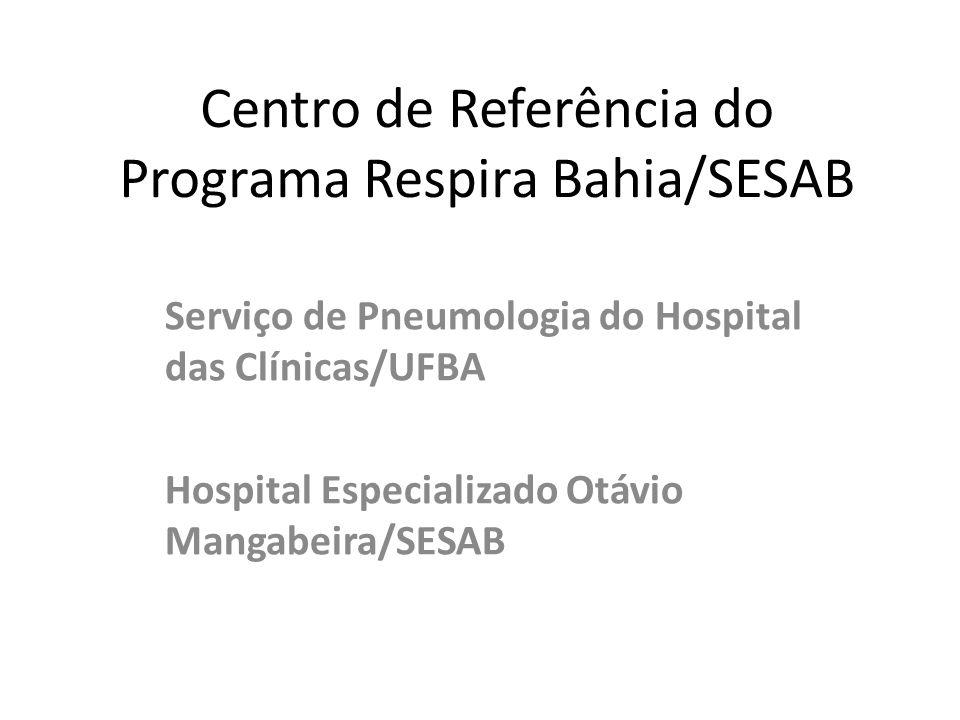 Centro de Referência do Programa Respira Bahia/SESAB