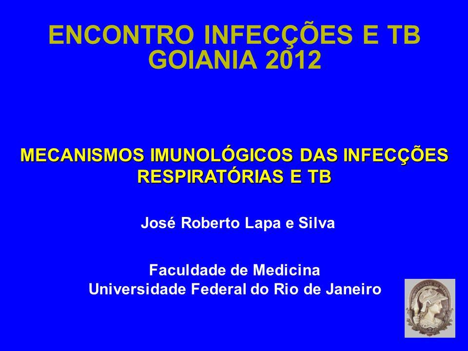 ENCONTRO INFECÇÕES E TB GOIANIA 2012