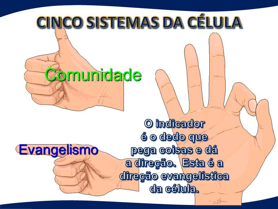 CINCO SISTEMAS DA CÉLULA direção evangelística