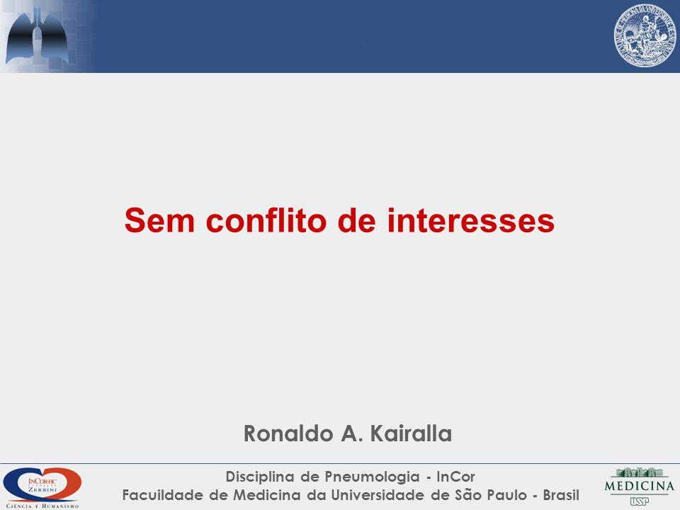Sem conflito de interesses