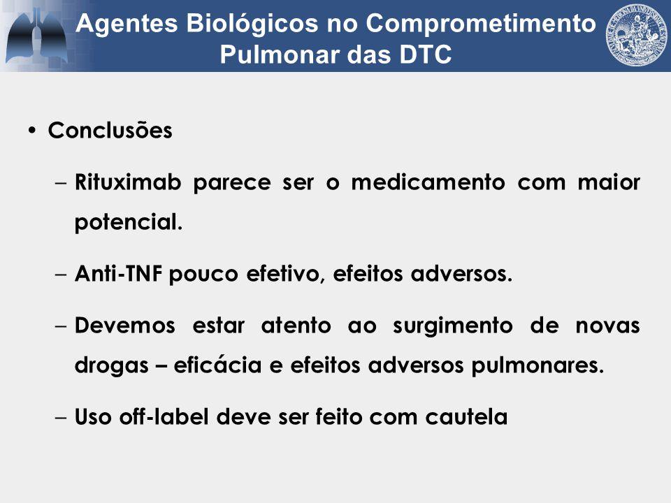 Agentes Biológicos no Comprometimento Pulmonar das DTC