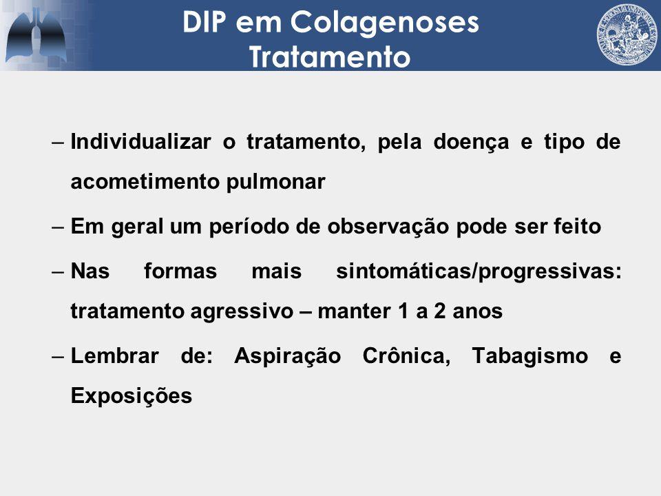 DIP em Colagenoses Tratamento