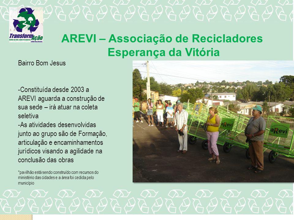 AREVI – Associação de Recicladores