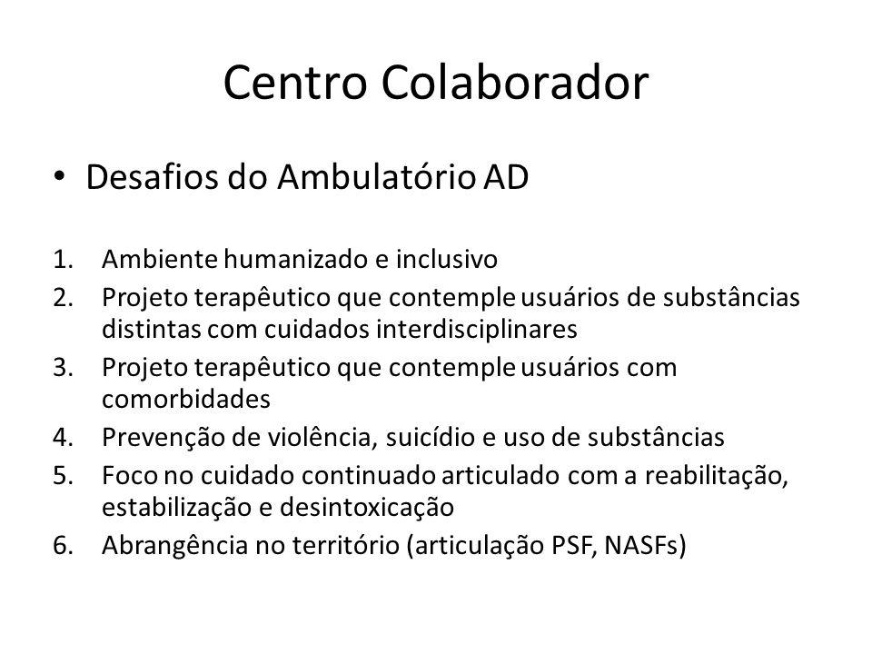 Centro Colaborador Desafios do Ambulatório AD