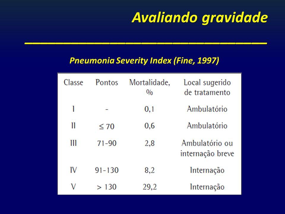 Avaliando gravidade _______________________________
