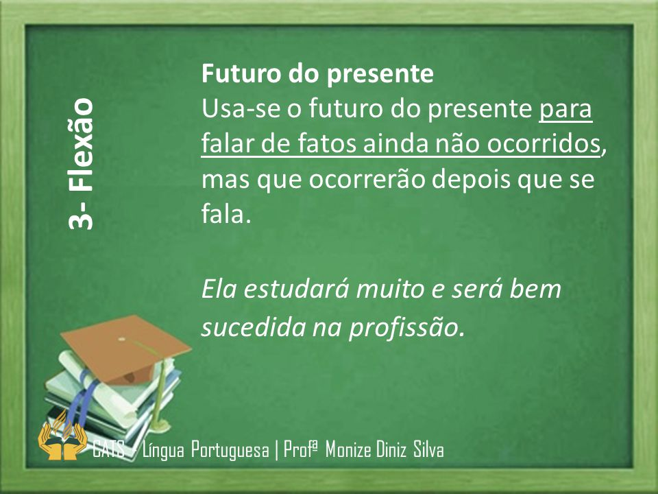3- Flexão Futuro do presente