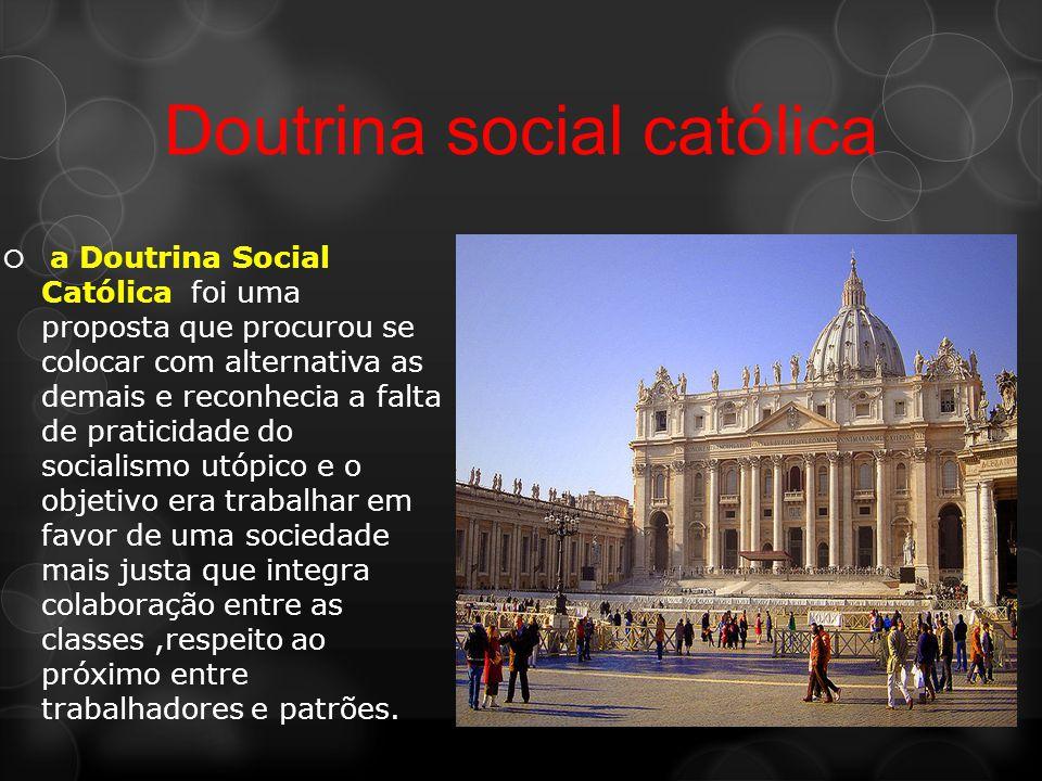 Doutrina social católica