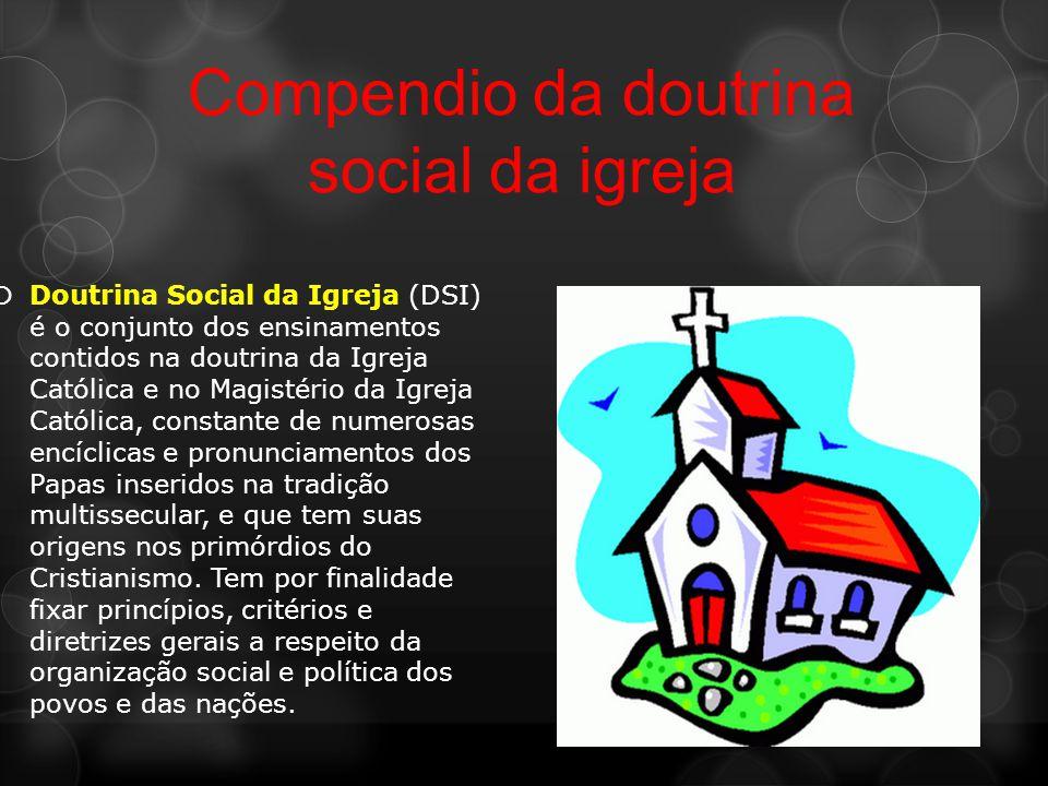 Compendio da doutrina social da igreja