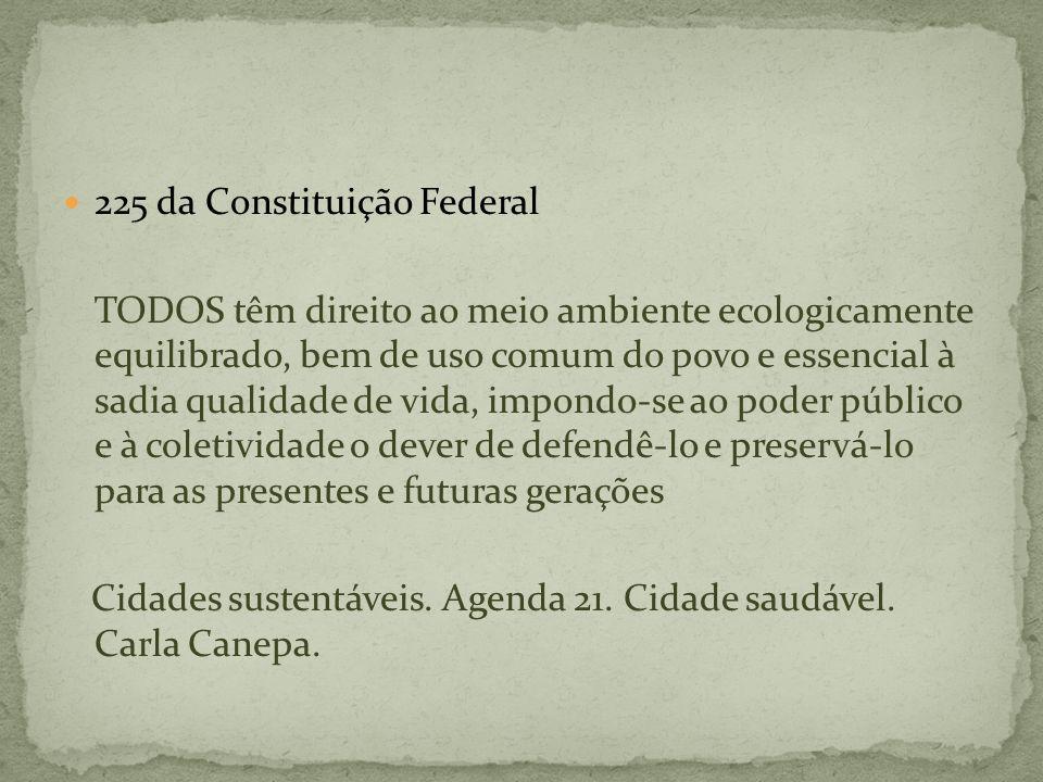 225 da Constituição Federal