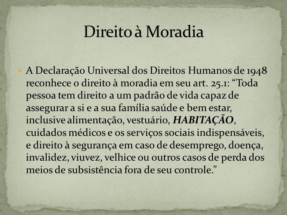 Direito à Moradia