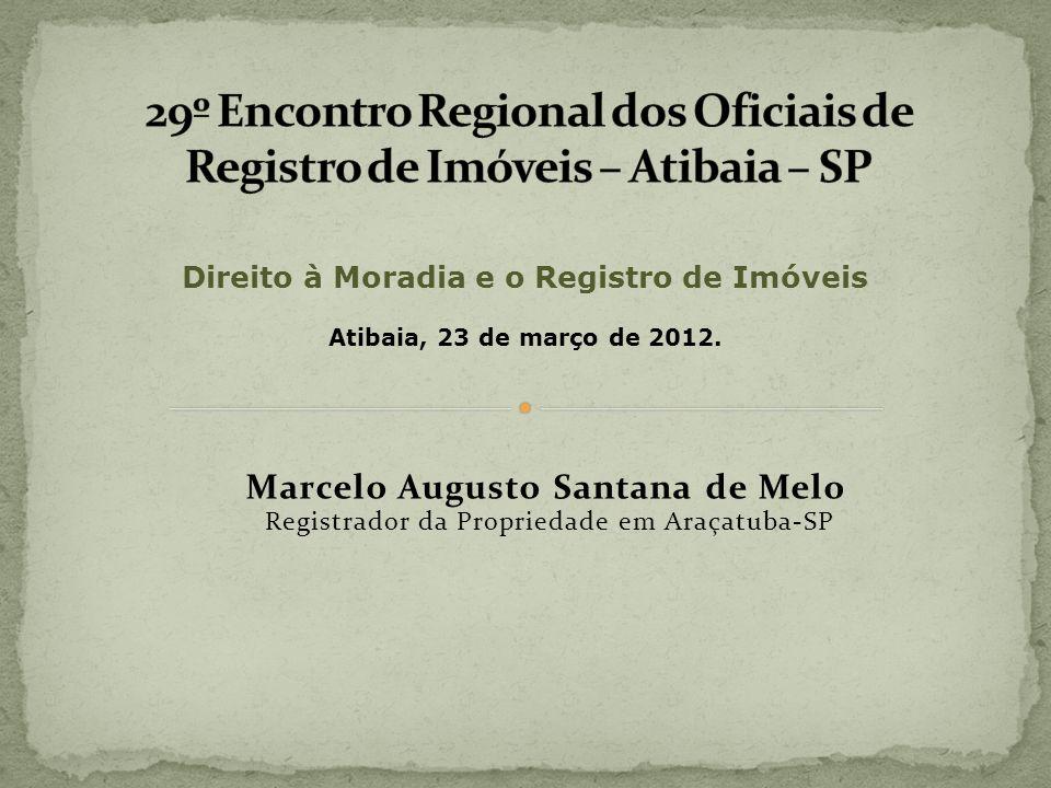 Direito à Moradia e o Registro de Imóveis