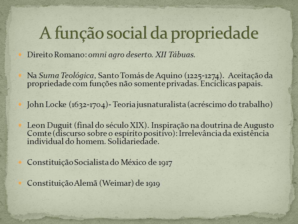 A função social da propriedade