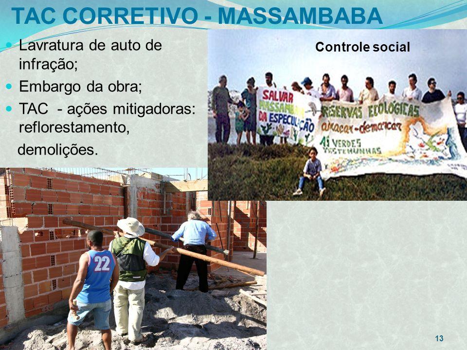 TAC CORRETIVO - MASSAMBABA