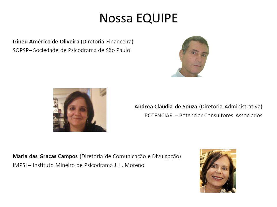 Nossa EQUIPE Irineu Américo de Oliveira (Diretoria Financeira)