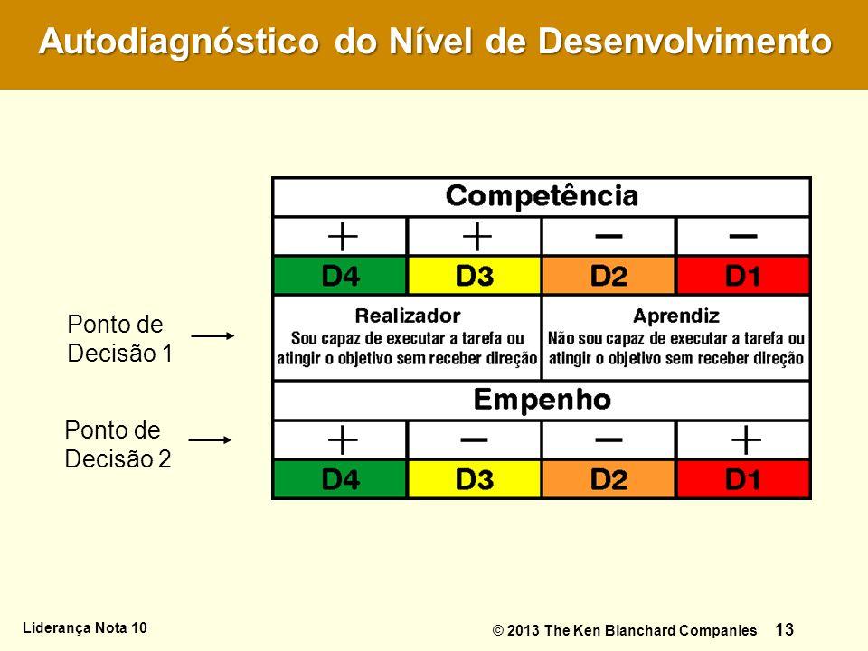 Autodiagnóstico do Nível de Desenvolvimento