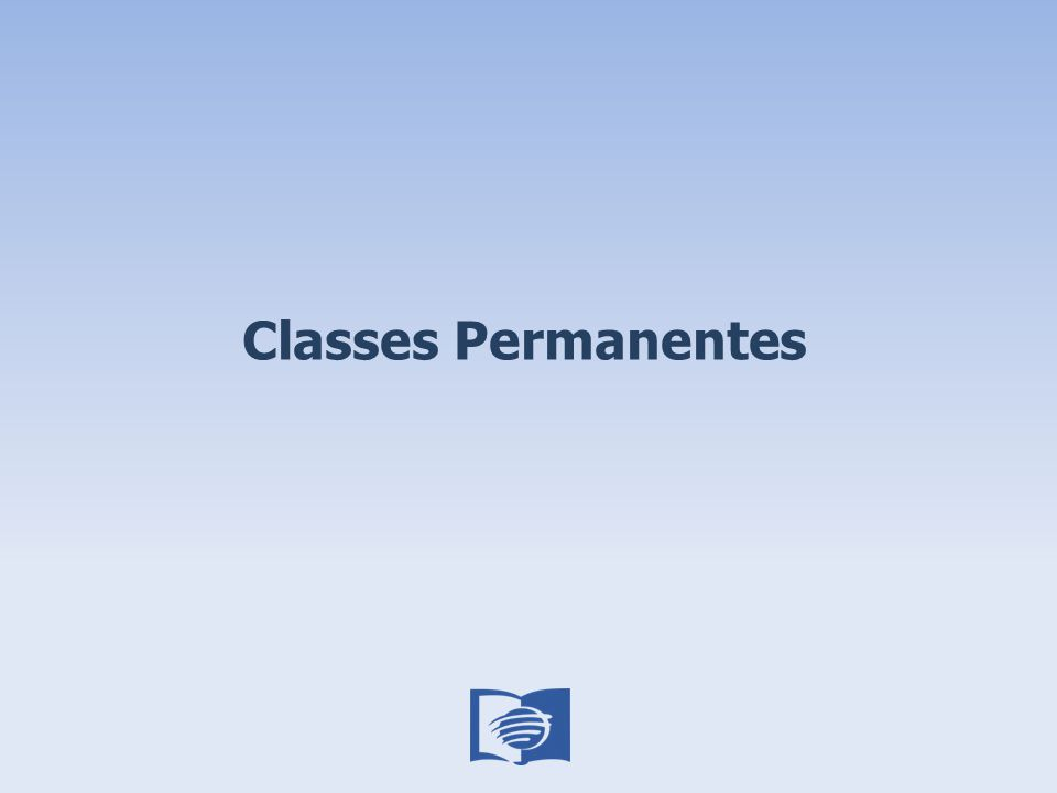 Classes Permanentes