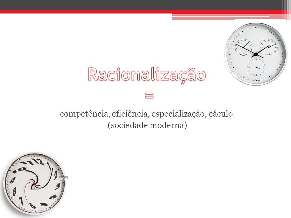 competência, eficiência, especialização, cáculo.