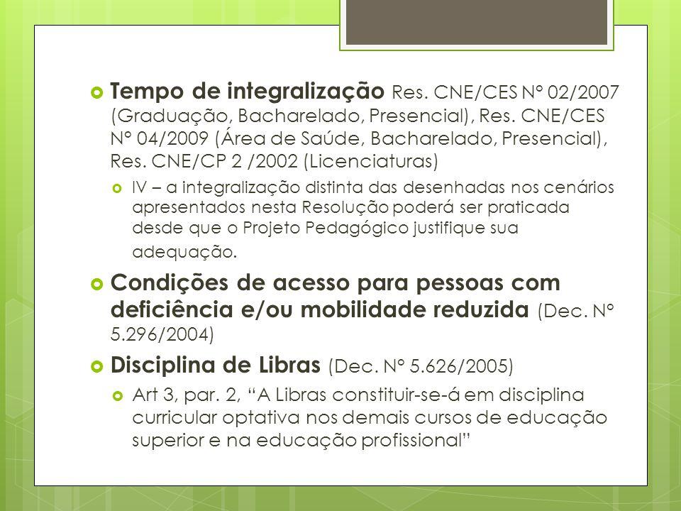 Disciplina de Libras (Dec. N° 5.626/2005)