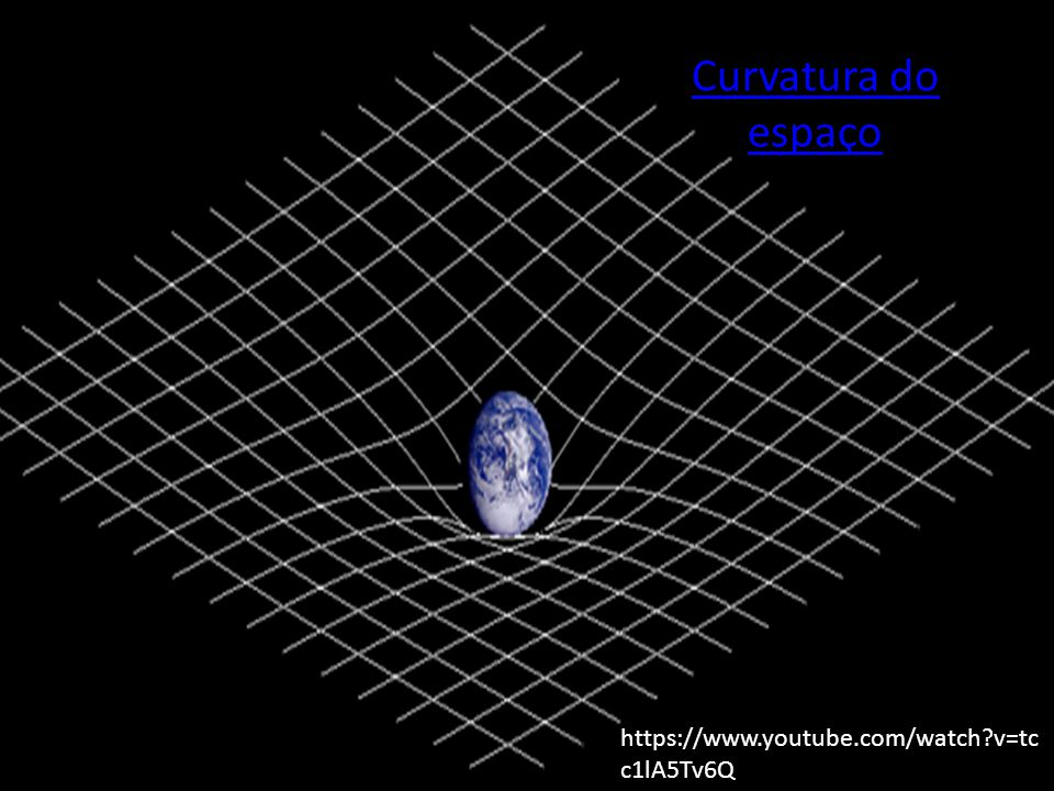 Curvatura do espaço https://www.youtube.com/watch v=tcc1lA5Tv6Q