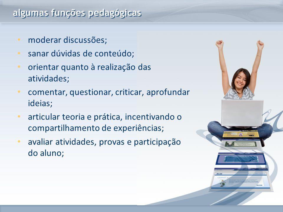 algumas funções pedagógicas