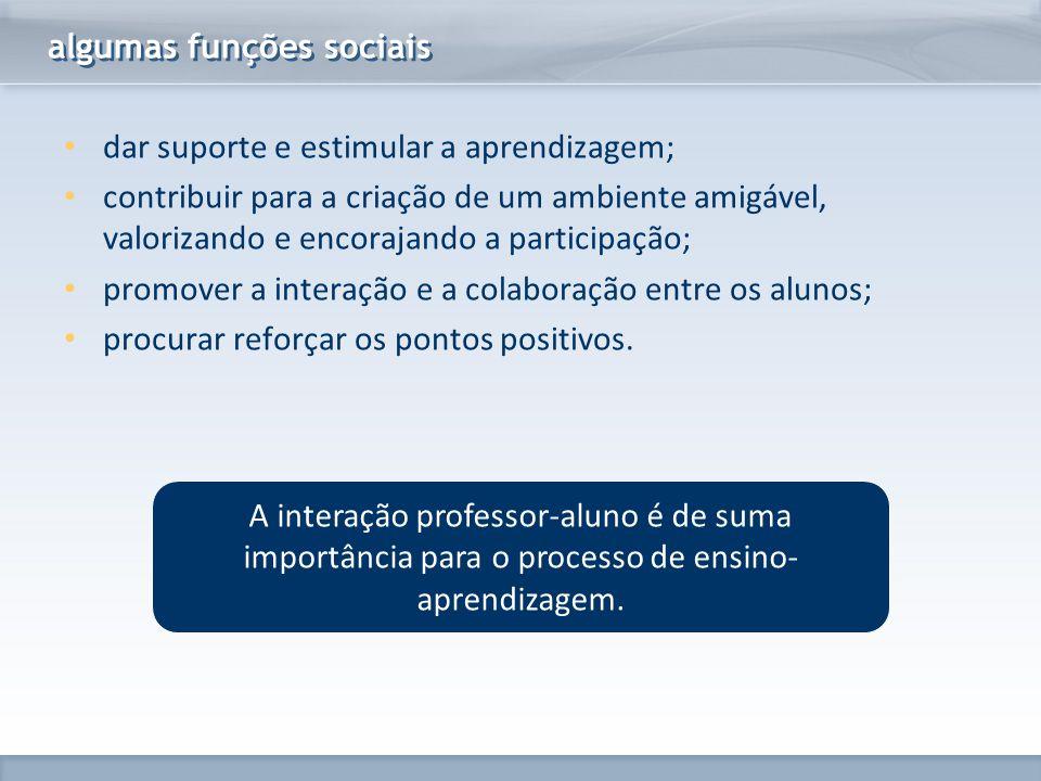 algumas funções sociais