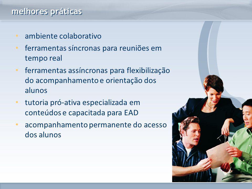 melhores práticas ambiente colaborativo. ferramentas síncronas para reuniões em tempo real.