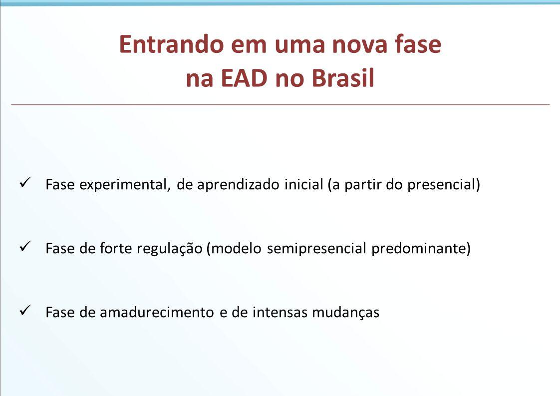 Entrando em uma nova fase na EAD no Brasil
