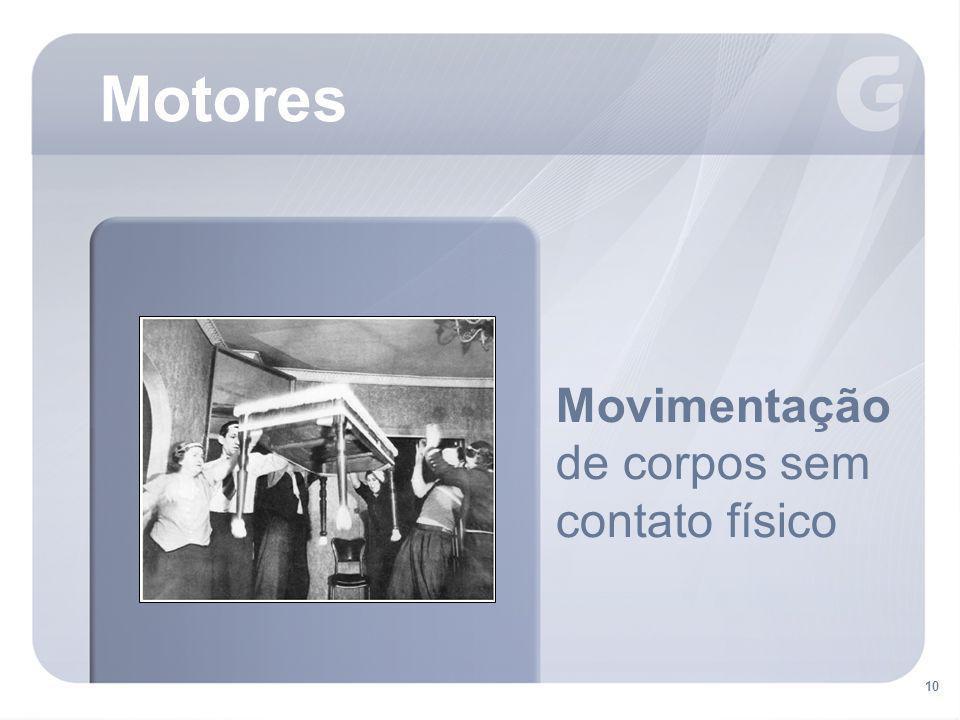Motores Movimentação de corpos sem contato físico 10