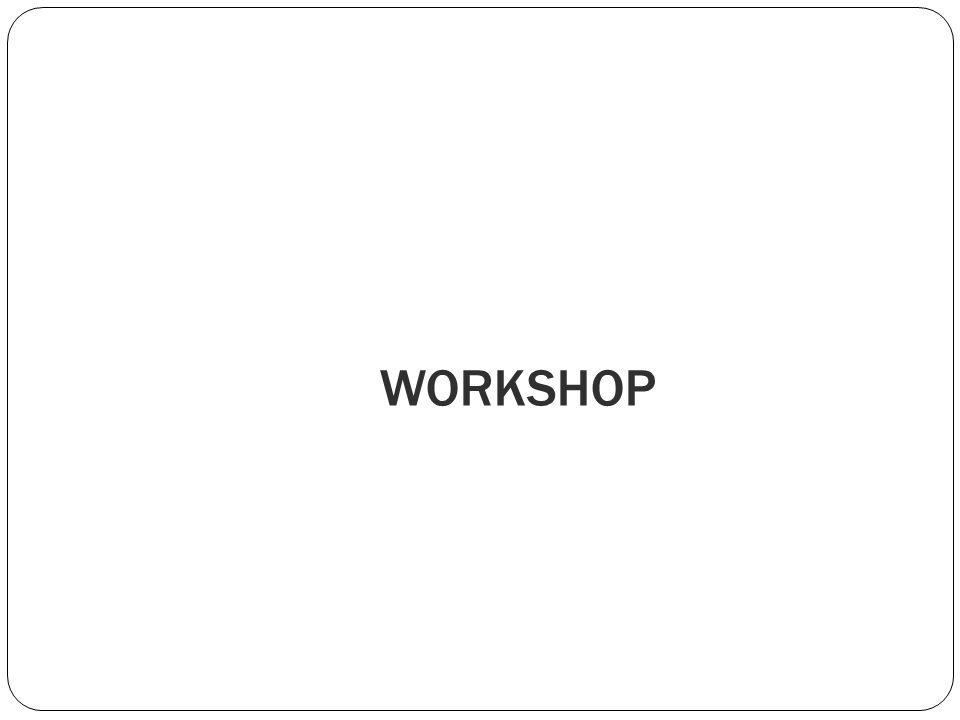 WORKSHOP Forneça uma breve visão geral da apresentação. Descreva o foco principal da apresentação e por que ela é importante.