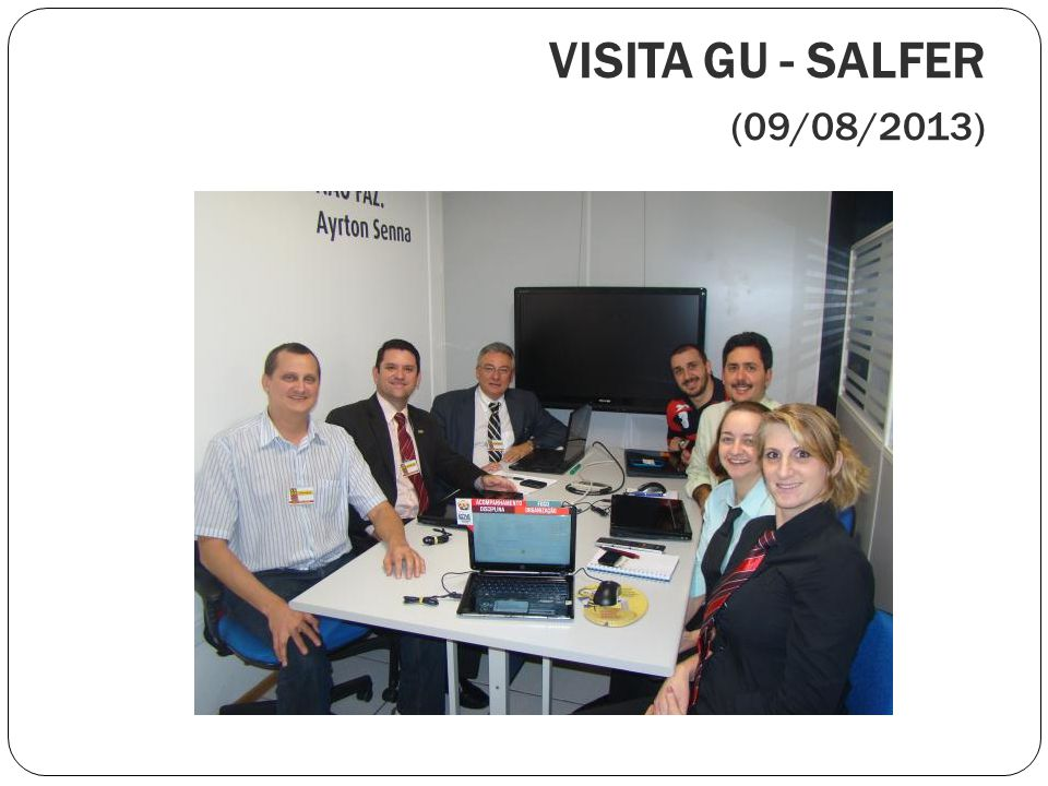 VISITA GU - SALFER (09/08/2013)