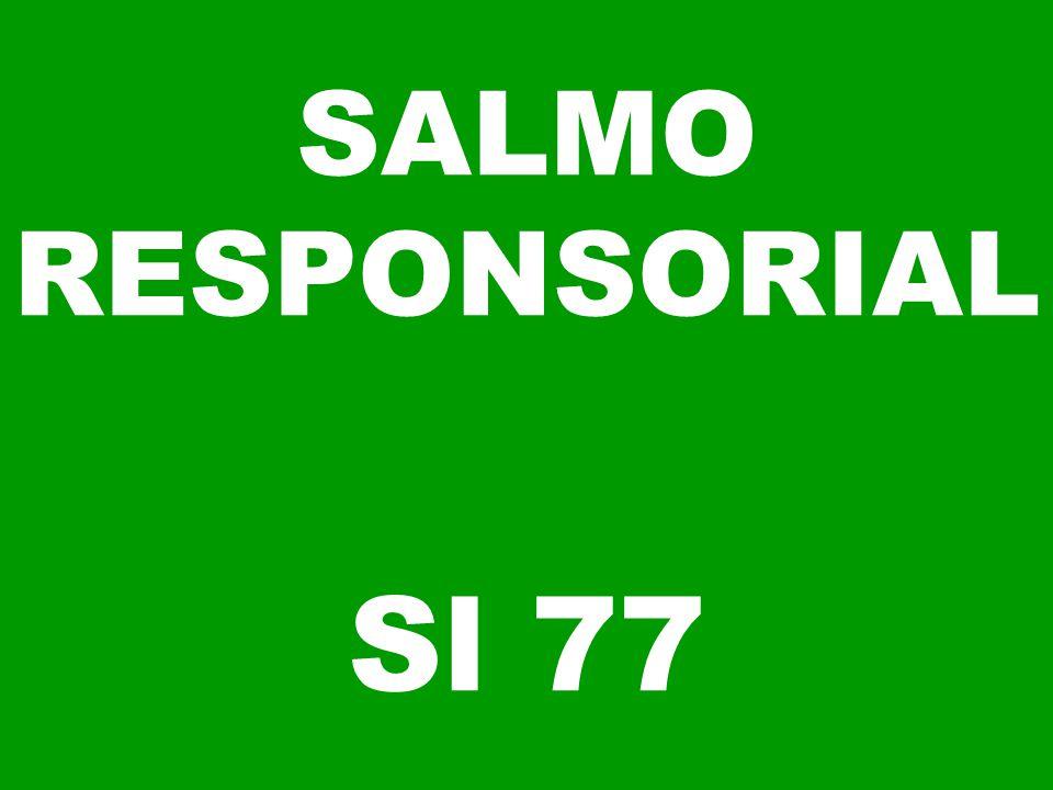 SALMO RESPONSORIAL Sl 77
