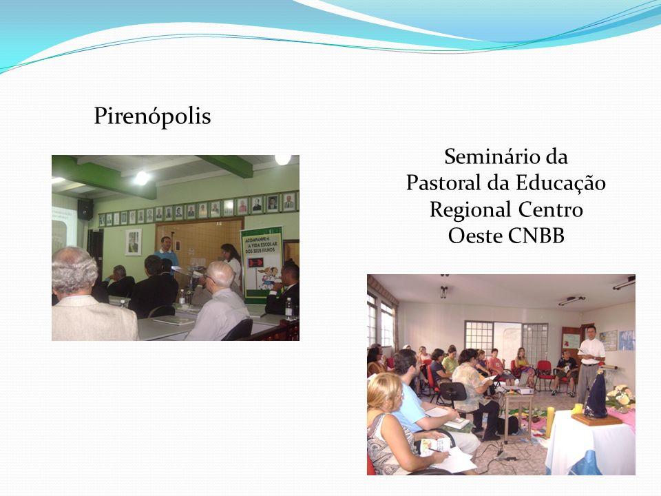 Pirenópolis Seminário da Pastoral da Educação